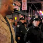 US Marine Stands Up To The NYPD At Occupy Wall Street Protests